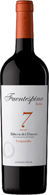 "Ribera del Duero DO Tinto Roble ""7"" Bodega Fuentespina 2015"